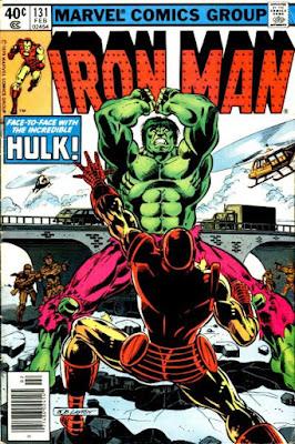Iron Man #131, the Hulk