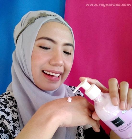 Scarlett Whitening Fragnance Brightening body lotion