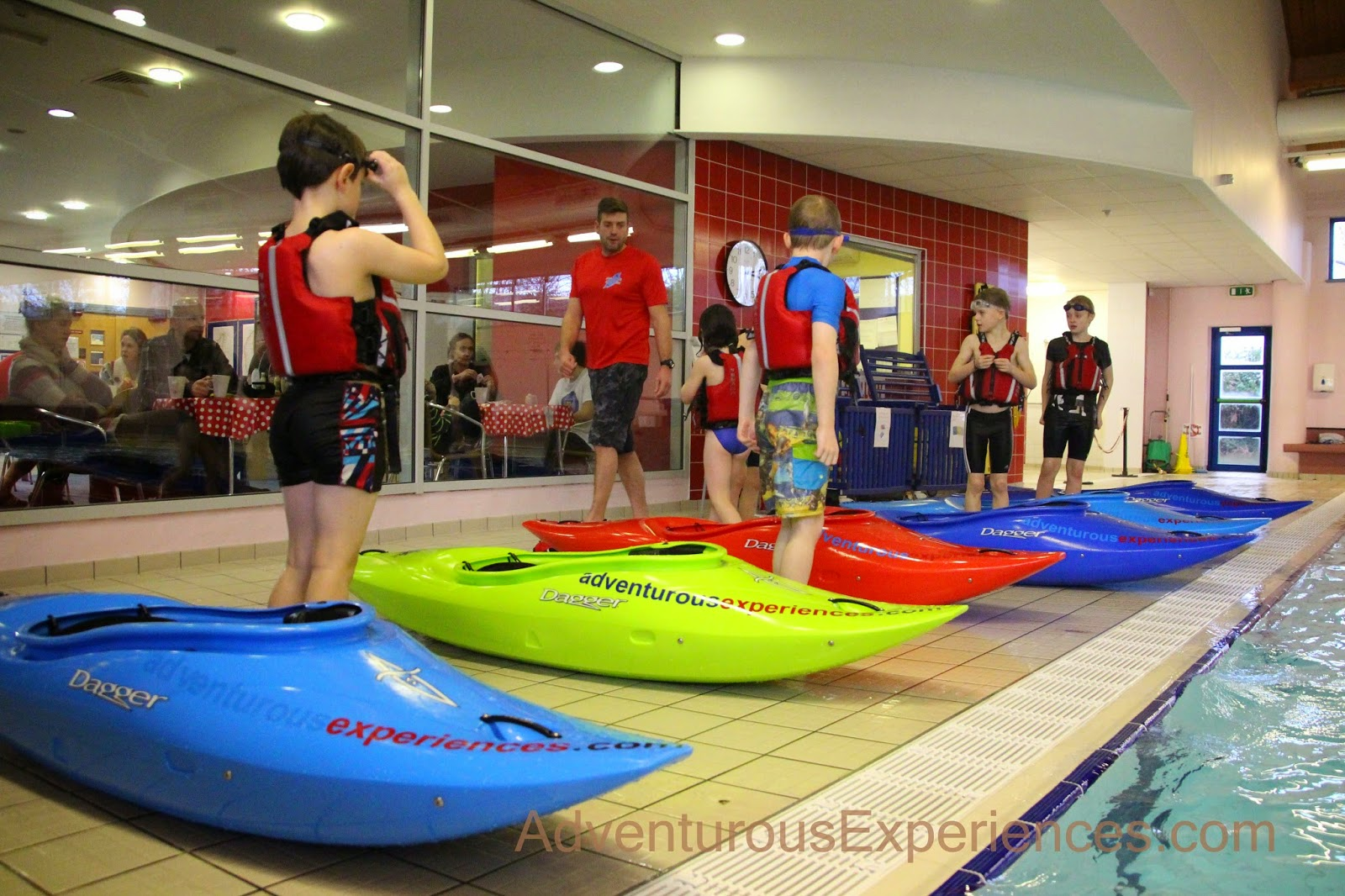 Adventurous experiences blog indoor kayaking for Western pool show 2015