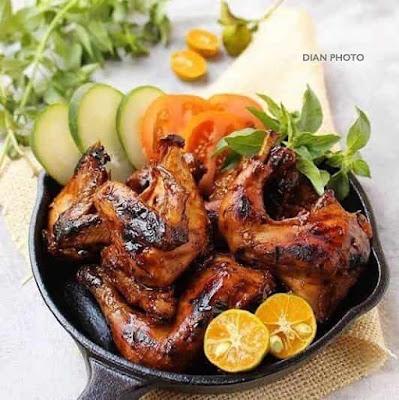 Resep dan Cara membuat Ayam Bakar Kecap Pedas