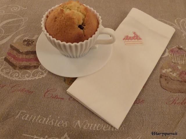 Muffin aux cranberries et à la vanille