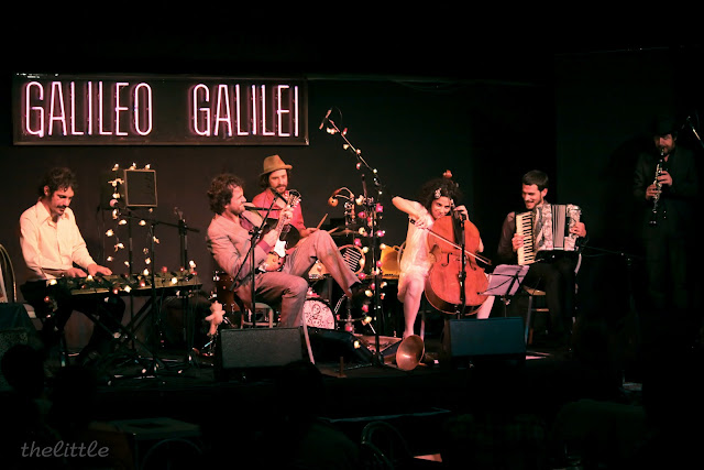 Diego Galaz, Fetén Fetén, Galileo ,Show de Dodó,Nacho Mastretta, concierto, acordeón, violín, trompeta, serrucho