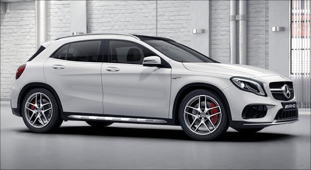 Mercedes AMG GLA 45 4MATIC 2019 là chiếc xe SUV, 5 chỗ thuộc dòng AMG