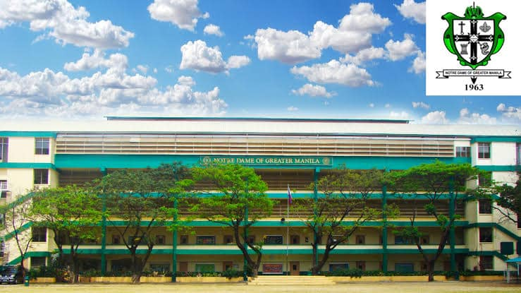 Campus of Notre Dame of Greater Manila, then an all-boys school in the north.