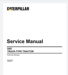 Service Manual Dozer Cat D6D Track-Type Tractor 1