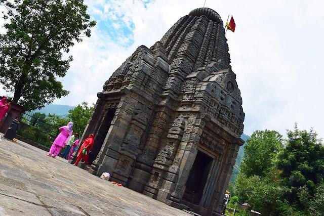 Basheshwar Mahadev Temple Bajaura, manali