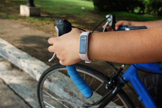 Patty Villegas - The Lifestyle Wanderer - Huawei - Band - 4 - Wearables - Cycling