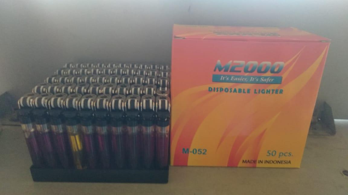 Jual Produk Korek Api Gas Mancis M2000 perkotak 50 pcs