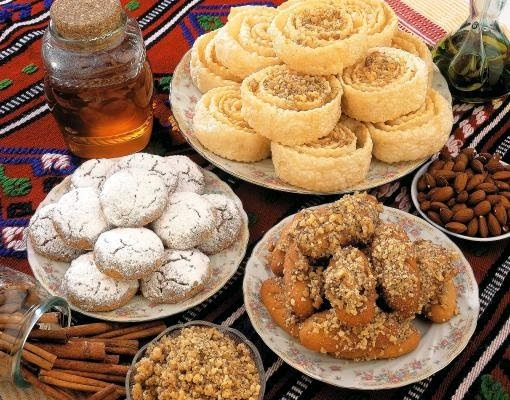 Traditional Greek Christmas desserts