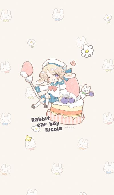 Rabbit ear boy Nicola 2