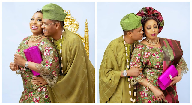 I love you so much baby- Shina peller says as he celebrates his 16th wedding anniversary (photos)