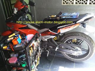 Cara pasang alarm motor pada Yamaha Jupiter MX King Fi