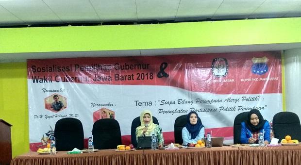 Komisioner KPU Jabar Kantong Kresek Harus Diperangi