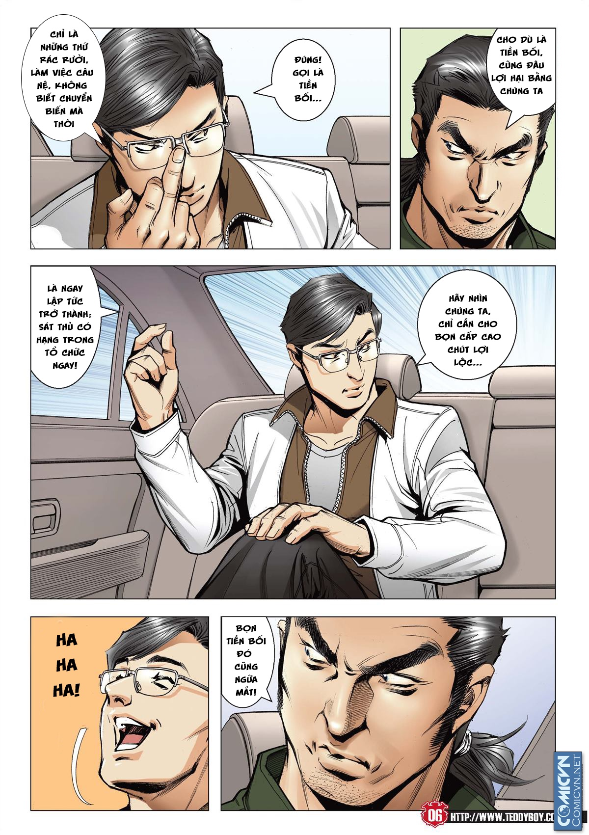 Người Trong Giang Hồ chapter 2127: thế đạo bất công trang 6