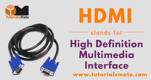 HDMI Full Form