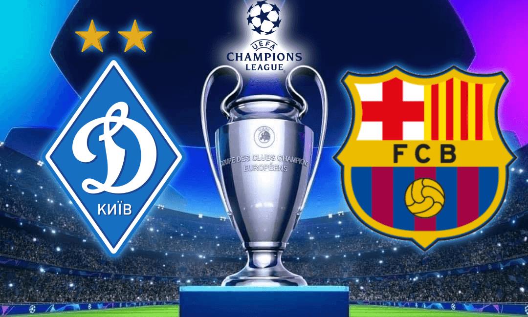 بث مباشر مباراة برشلونة وديناموكييف