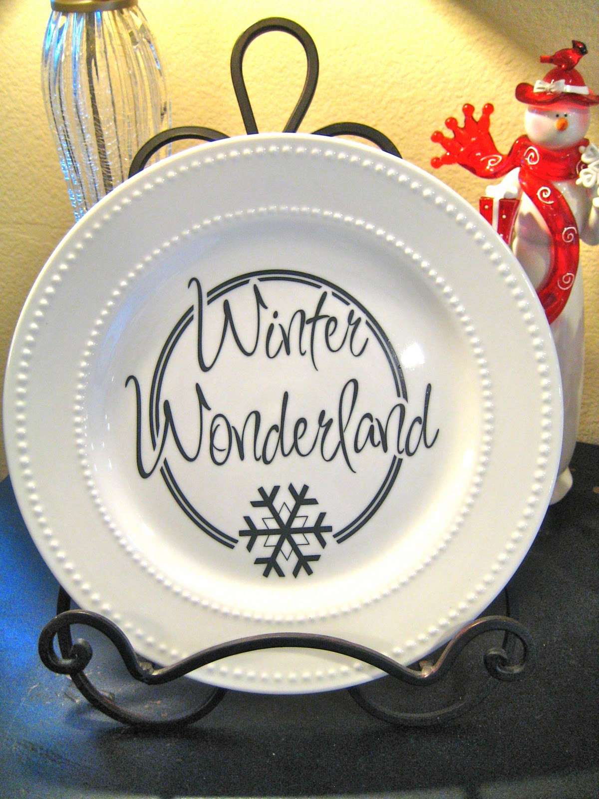 Scrap Making Ead Hop Diy Christmas Plates