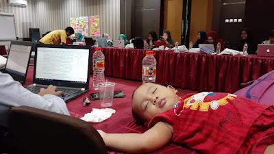 WWC Memperbolehkan Balita Ikut Seminar