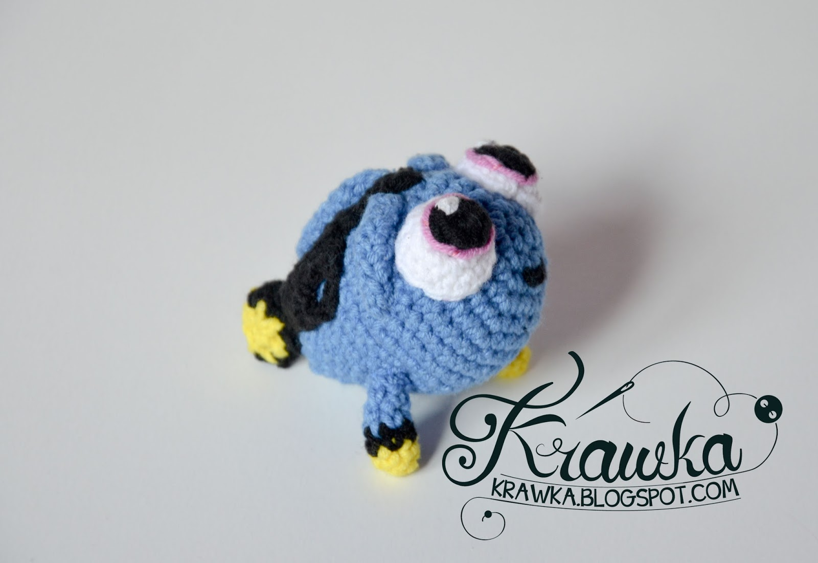 Finding Nemo - free crochet pattern | Crochet patterns, Crochet ... | 1101x1600