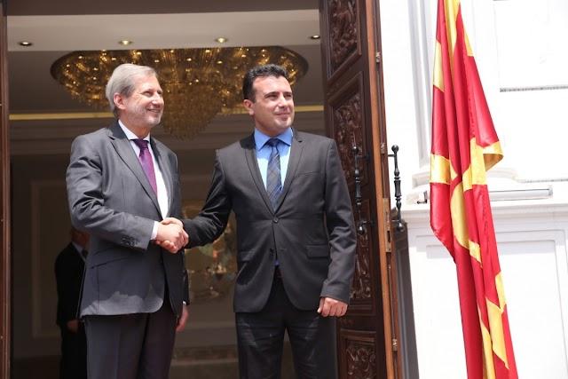 Skandal oder Visionär? Zaev lässt EU Kommissar ins mazedonische Parlament