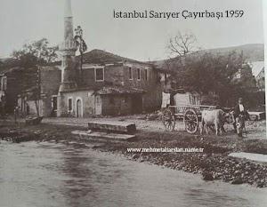 İstanbul Sarıyer Çayırbaşı 1959 eski resim