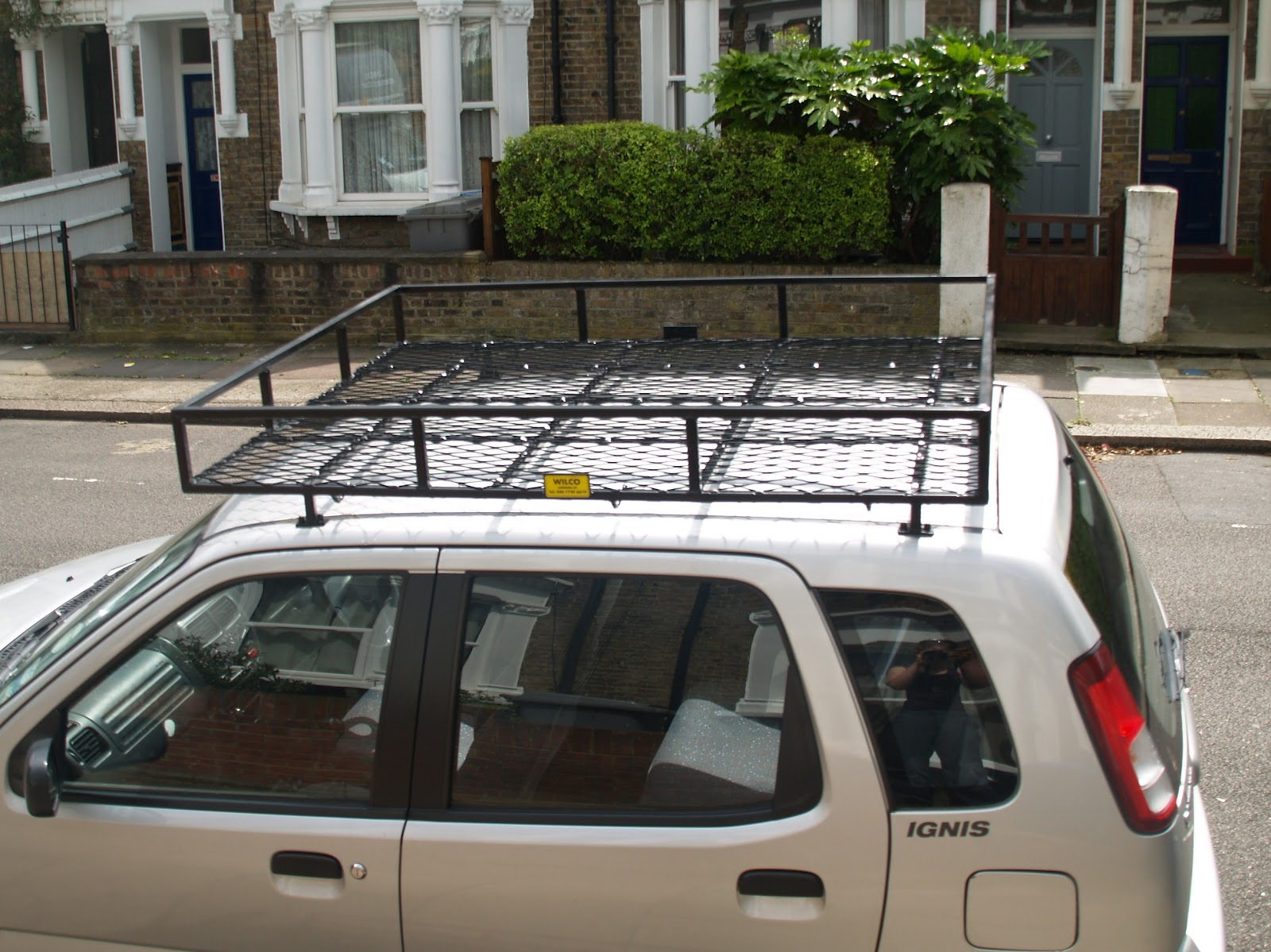 Mongol Rally 2012: We have a roof rack!