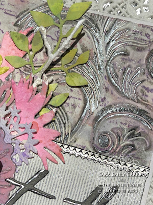 Sara Emily Barker https://sarascloset1.blogspot.com/2019/07/togethera-metallic-wedding-card-for.html Tim HOltz 3D Embossed Wedding Card 4