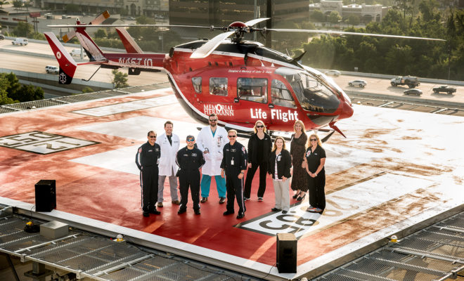 Kathryn's Report: Community Leaders Bless New Helipad at