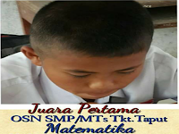 SMP N 3 Pangaribuan (Sigotom) Meraih Juara Pertama OSN SMP/MTs se TAPUT