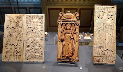 Byzantine ivories in the Bargello Museum, Florence