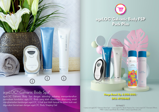 Promo Galvanic Body Spa Nu Skin September 2020