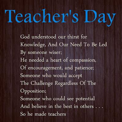Teachers Day Poems
