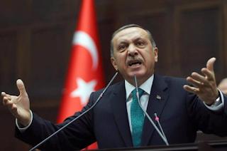Ο Ερντογάν εξέφρασε τα συλλυπητήριά του για τον μοιραίο πιλότο