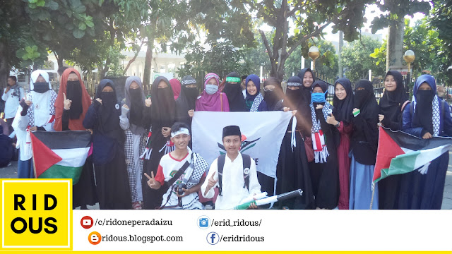 Aksi Solidaritas Untuk Palestina #115 dari kota Tasikmalaya -erid ridous blogger