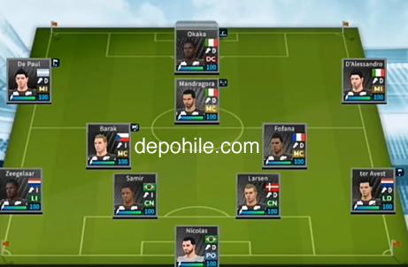 DLS 19 Udinese Calcio Yaması 2020 Kadrosu İndir Hileli - Yeni