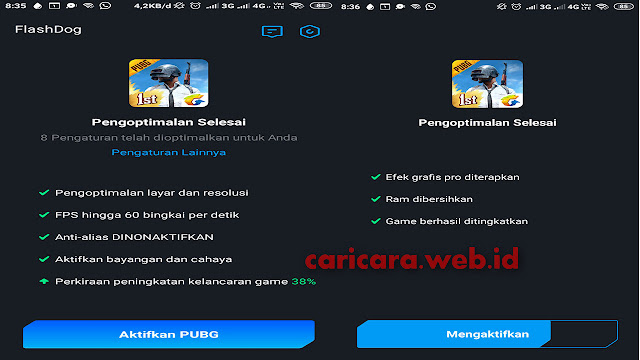 Config dan Script PUBG Mobile Flash Dog Smooth Extreme