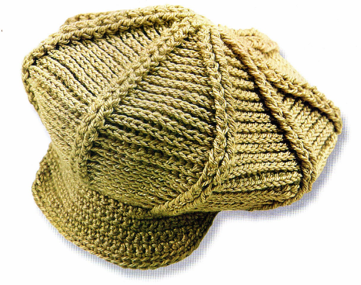 buscar diseño novedoso presentación tejidos artesanales en crochet: gorra con visera en tono ...