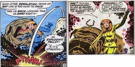 Fantastic Four 61-Crystal Inhumans Lockjaw