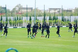 نجم المنتخب المغربي يغيب عن الحصة التدريبية الأولى بعد المباراة