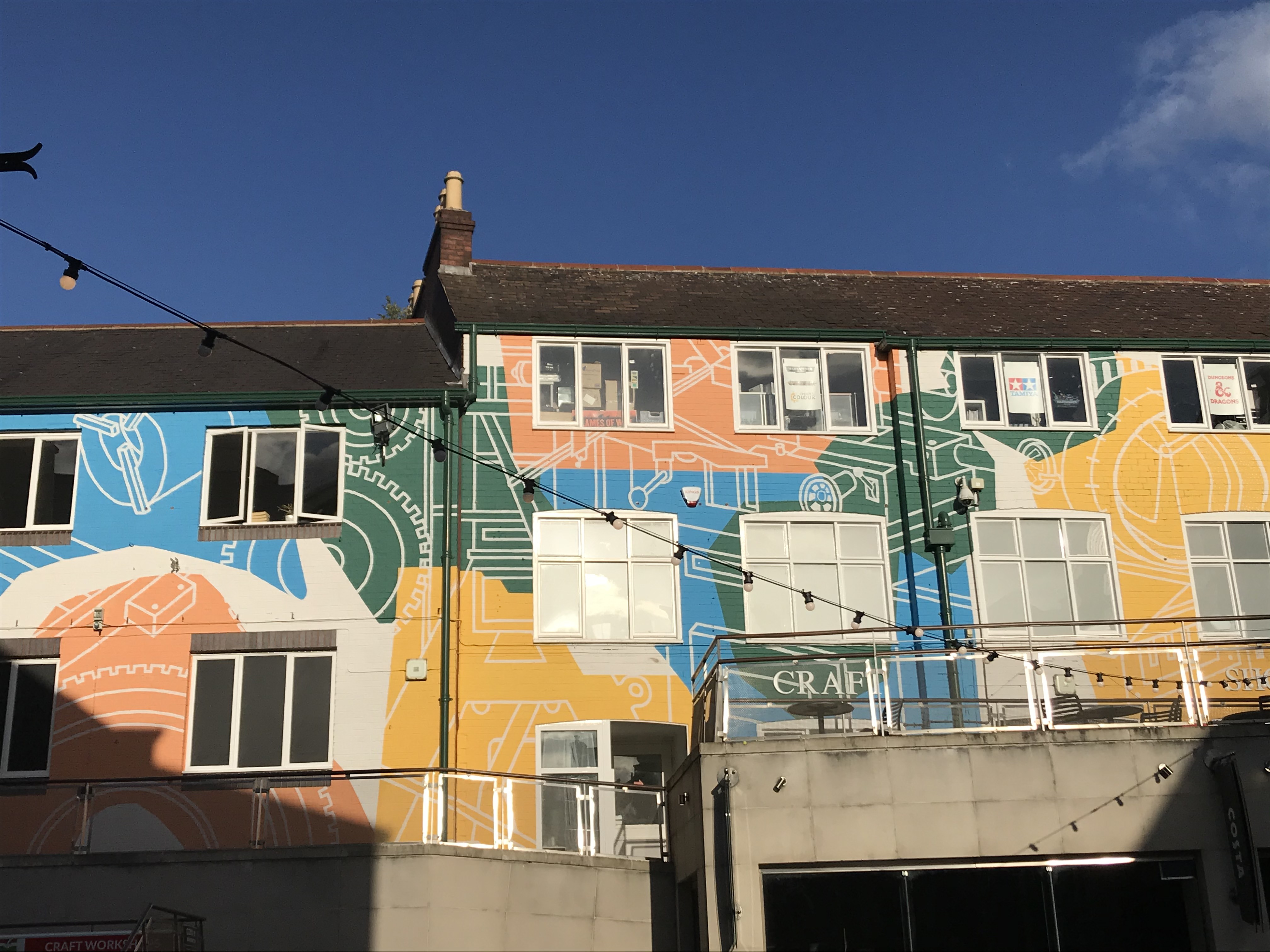 Sheffield Orchard Square Mural