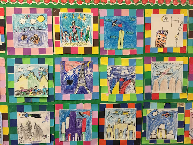 Small Batch Art 1st Grade Faith Ringgold Story Quilts