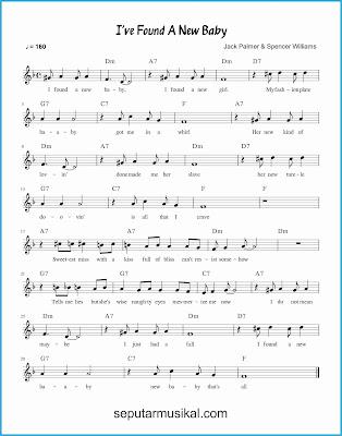 i've found a new baby lagu jazz standar