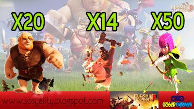 Clash Of Clans, Süper Oyuncu, Android, coc, oyuncu, binici, dev, ganimet kasma, ganimet toplama, hızlı taş kasma, savaşma taktikleri, ordu taktikleri, en iyi ordu, en süper ordu, en iyi savaşçı,