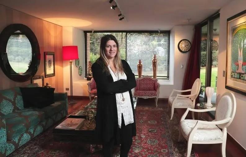 Karla Rocha vendió su depto de 550 m2