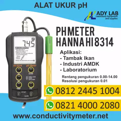 harga pH meter air, merek pH Meter air