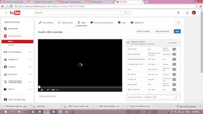 mengubah musik video youtube yang terkena hak cipta