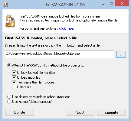 Malwarebytes FileASSASSIN