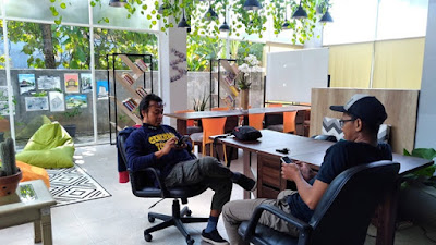 Collabox Creative Hub Coworking Space di Semarang