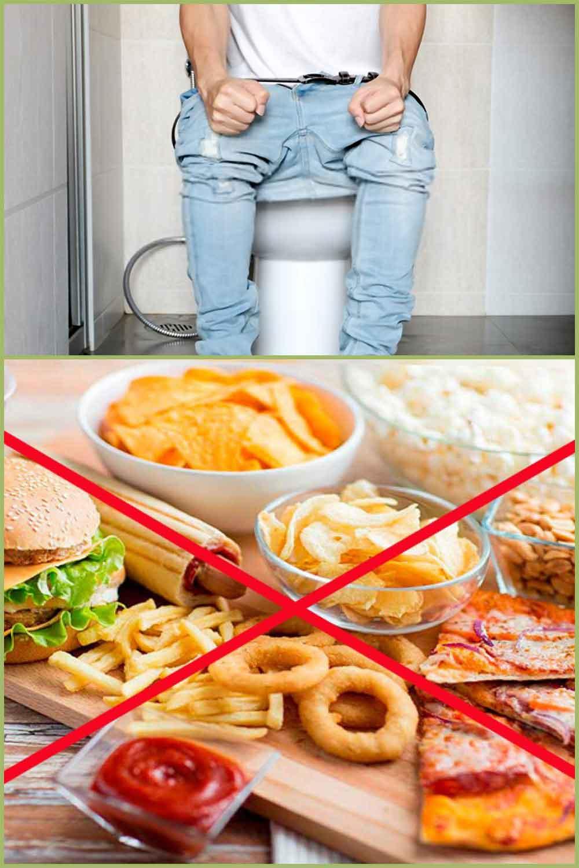 Aliments qui vous rendent constipé