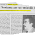 27 novembre, un giorno maledetto per Gilberto Cavallini